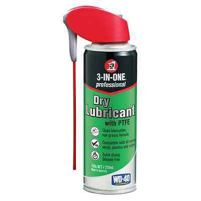 3-IN-ONE Professional Dry Lubricant with PTFE, quick dry silicone free 150g