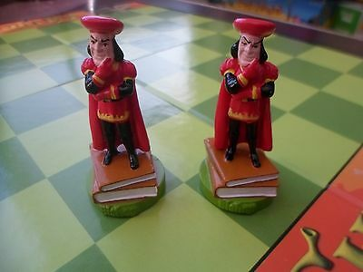 SHREK CHESS SET GAME PARTS PIECES BISHOP MOVERS ONLY LOT 2 FREE SHIPPING