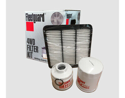 Mitsubishi Triton 2.5L ML MN 4D56 TD CRD Fleetguard Filter Kit 4WD 4x4 MK13558