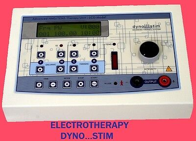 ELECTROTHERAPY, LCD DISPLAY PHYSICAL THERAPY DYNO STIM DIGITAL UNIT E1