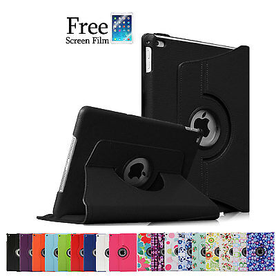 360 Rotating Smart Cover Case for iPad 4 3 2 iPad mini 3 iPad Air 2 1 iPad Pro