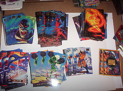 1994 MARVEL MASTERPIECES SINGLE SIGNATURE PARALLEL CARDS 2/.99! WOLVERINE!