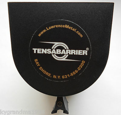 Tensabarrier wall mount crowd control 14 foot length Red strap