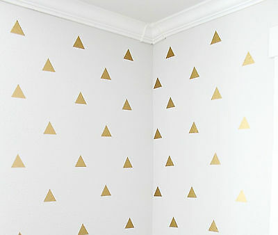 Triangle Wall Stickers Removable Decals Modern Pattern Nursery Decor