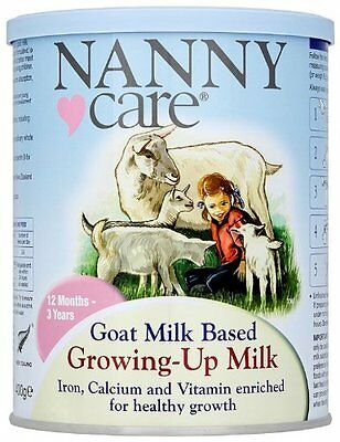 Nanny Care Nanny Goat Milk - Growing Up Nutrition 400g
