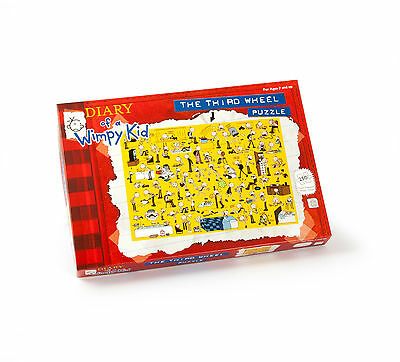 Diary Of A Wimpy Kid The Third Wheel Jigsaw Puzzle 250 Pieces