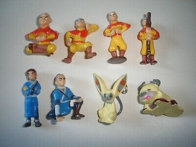Avatar The Last Airbender Figurines Set Bip Cartoon Anime Figures Collectibles