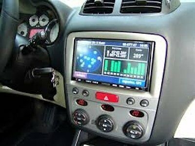 Kit 2 Din Gps Alfa 147 Autoradio 7 Pollici Hd Bt Usb Sd Dvd Mp3 Divx Mappe