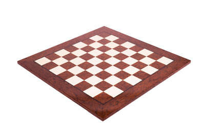 """Brown Erable Standard Traditional Chess Board - 2.375"""" - GLOSS FINISH"""