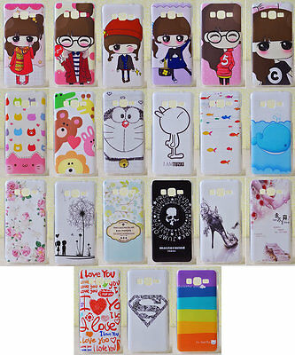 For Samsung Galaxy Grand Prime G5308W G530H Soft TPU Girl Love Flower Case Cover