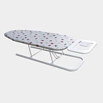 Home Family Collapsible Padded Portable Table Top Ironing Board with Iron Stand