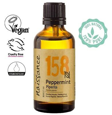 Naissance Peppermint Piperita Essential Oil Use in Aromatherapy, Massage Blend