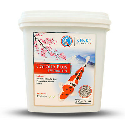 Colour Enhancer - Kenko Koi Food - Pellets - Queni Koi