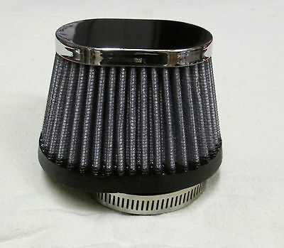 S & B Oval Air Filter Fits Motorcycle Carb Size 50mm RC69 RC 69