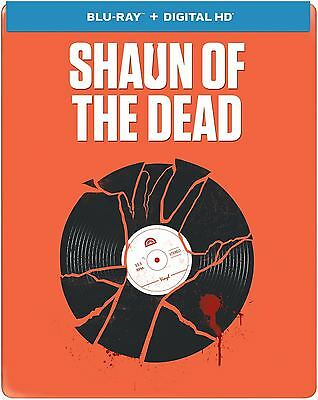 Shaun of the Dead (Blu-ray Disc, 2014, Limited Edition; Includes Digital...