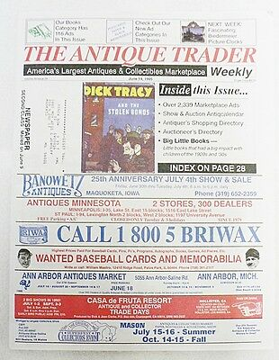 June 14, 1995 The Antique Trader Weekly Magazine