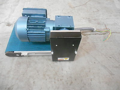 "Sew Mk Automation Powered Conveyor Motor 11.25""X18"" *Belt Unit* Used"