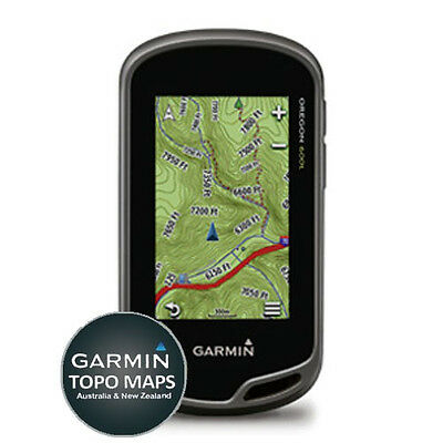 Garmin Oregon 600T Handheld GPS Navigator with TOPO Mapping