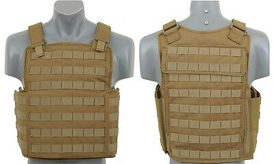 AIRSOFT Chaleco tactico molle Seals Tan