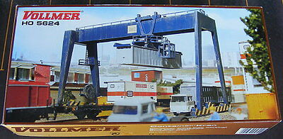 VOLLMER OVERHEAD CONTAINER CRANE FOR YOUR LAYOUT KIT 1/87 SCALE NEW KIT 5624