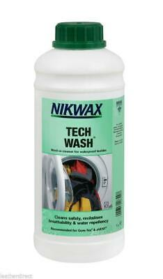 Nikwax Tech Wash Non-Detergent Cleaner for wet weather clothing & equipment