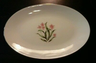 Pink Orchid China - Made in Japan - Oval Plate - *OFFERS ACCEPTED*