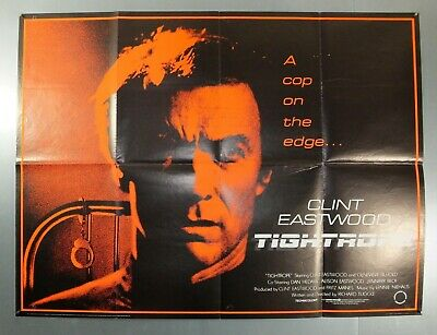 Tightrope - Clint Eastwood / Genevieve Bujold - Original Uk Quad Movie Poster