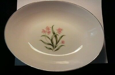 Grantcrest Pink Orchid China Serving Bowl Oval *OFFERS ACCEPTED*