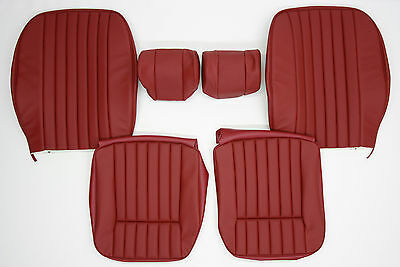 New Jaguar Xke E-Type S3 Leather Seat Cover Made To Original Specification
