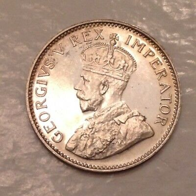 - 1923 Union of South Africa George V Proof Threepence - only 1,402 minted