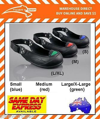Tiger Grip Safety Cap Vistors Overshoe Steel Toe Cap VARIOUS SIZES