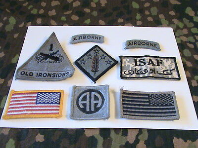 US ARMY Military patches/velcro mount