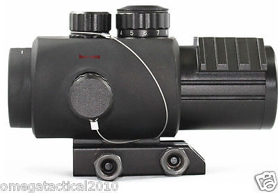 Vector Optics Calypos 3x30 Tactical Prism CQB Scope Rubber Armored  MPT2 Reticle