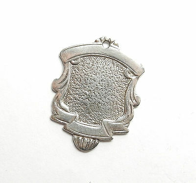 Antique George V Birmingham 1930 Sterling Silver FRERE CUP ALBERT FOB MEDAL 5g