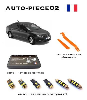 pack full led intrieur pour seat toledo 4 partir de 2012