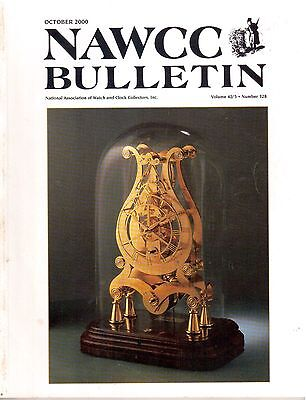 NAWCC BULLETIN (HOROLOGY)  - (2000)  - 6 vintage issues!
