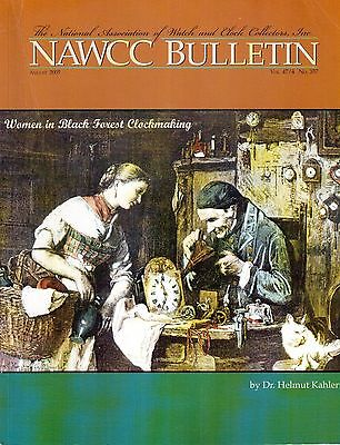 NAWCC BULLETIN (HOROLOGY)  - (2005/6)  - 6 vintage issues!
