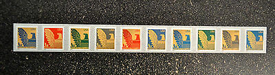 USA2003  #3792-3801 25c American Eagle Coil Presort Rate Strip of 10  Mint NH