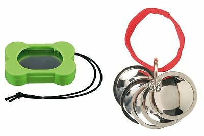 Dog Puppy Cat Rabbit Bird Clicker with Adjustable Tone or Dog Training Discs