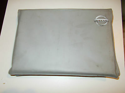Nissan Grey Plastic Wallet For Vehicle Documents Etc