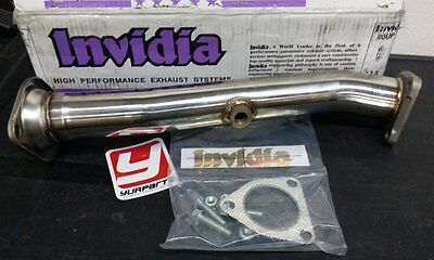 Invidia HS00HS1TPP 60mm Stainless Test Pipe 00-09 Honda S2000 S2K