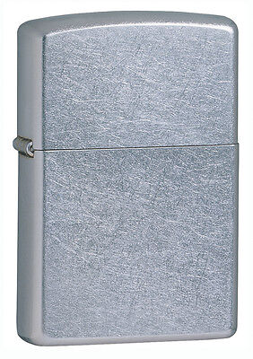 Zippo Windproof Street Chrome Lighter, # 207, New In Box