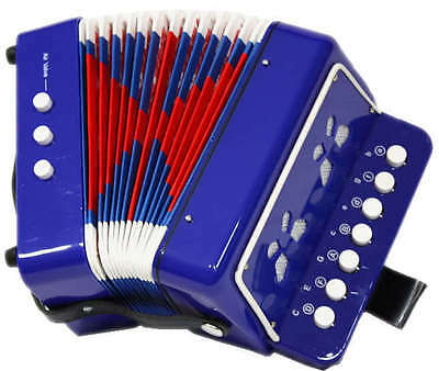 New Educational Learn Kid Accordion Instrument Music Button Piano Toy Boys Girls