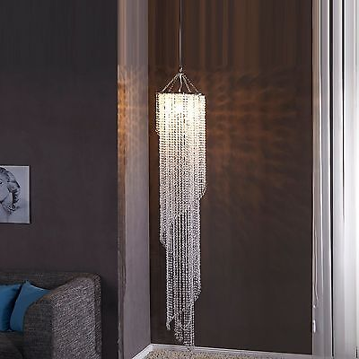 DESIGN CHANDELIER TROPICAL STRASS 180cm pendant lamp ceiling lamp