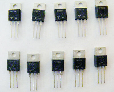 New 10 PCS Teccor D4020L 400 V 20 Amp Ultra Fast Recovery Rectifiers Diodes