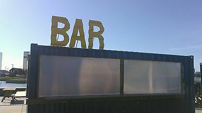 20 Ft Cargo Shipping Container Surf Bar