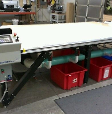 Gerber Cutting Table and Tukatech Digitizer and Software