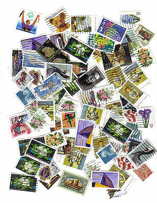 D's Moving Sale: 2002-2005 Used US Stamps ~ most 37c ~ 100+