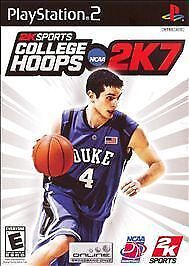 COLLEGE HOOPS 2K7 NCAA SONY PLAYSTATION 2 NEW, SEALED