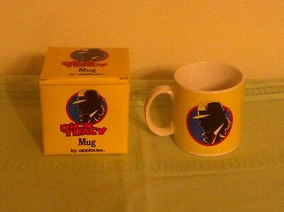 DICK TRACY Mug By Applause. Disney Movie Film Logo Cup with Box. MINT.